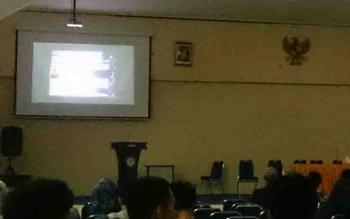 Nonton bareng film penghianatan PKI di Untama Pangkalan Bun.