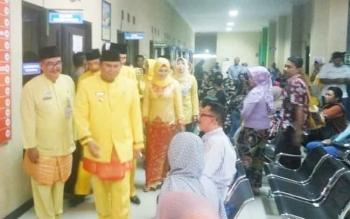 Wabup Kobar Ahmadi Riansyah saat anjangsana ke RSUD Sultan Imanuddin Pangkalan Bun