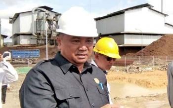 Mantan Wakil Ketua II DPRD Lamandau, Taufik Hidayat yang tengah menjalani proses PAW dengan sesama kader PAN yakni Padimin.
