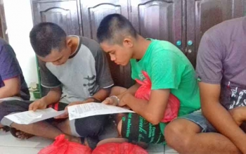 Muhammad Jepry Setiawan (16) dan Muhammad Nur Saputra alias Putra (16).