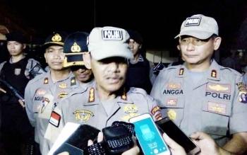 Karo Ops Polda Kalteng, Kombespol Tetra Megayanto Putra didampingi Kapolres Barsel, AKBP Yussak Angga