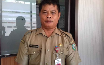 Kepala BKD Kotim, Alang Arianto