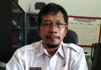 Kepala BPBD Mura Markurius Dani
