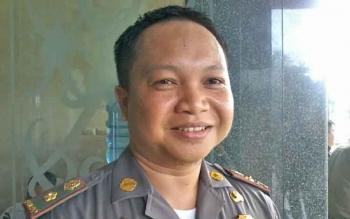 Kabid Linmas pada Satpol PP Katingan, Bambang Seruyanto.