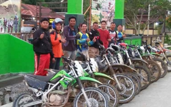 Rute Trail Adventure HUT TNI di Wilayah Koramil Tumbang Jutuh Capai 80 Kilometer