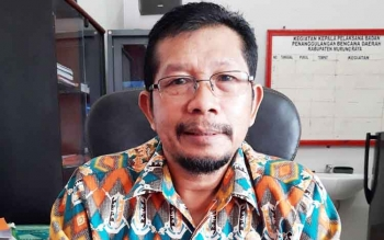 Kepala Badan Penanggulangan Bencana Daerah Murung Raya (BPBD Mura) Markurius Dani