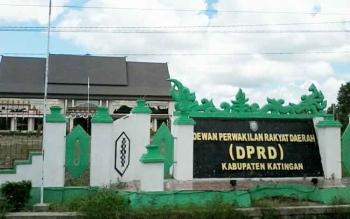 Gedung DPRD Kabupaten Katingan.