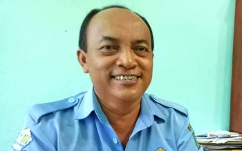 Direktur PDAM Muara Teweh Agus Surjanto.