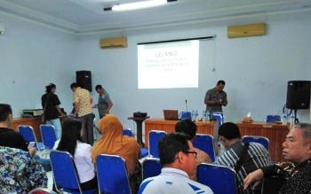 Mediasi antara warga tujuh desa dan manajemen PT AGU yang difasilitasi Pemkab Barito Utara, baru-baru ini.