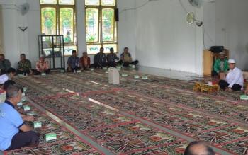 ASN Ikut Kegiatan Tausiyah Rutin di Masjid Al Ittihad