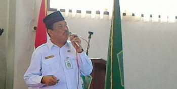 Kepala Bidang Pendidikan Agama dan Keagamaan Islam (Pakis), Kanwil Kemenag Kalimantan Tengah H Mahli.
