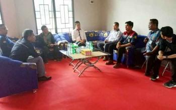 Pertemuan sekaligus silaturahim Bupati Barito Utara dengan pemerintah kecamatan Gunung Timang