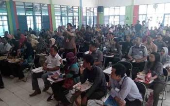 Seleksi panwaslih tingkat kecamatan di Kabupaten Kapuas.