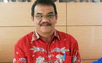Kepala Dinas Perindustrian dan Perdagangan Kota Palangka Raya, Aratuni D Djaban