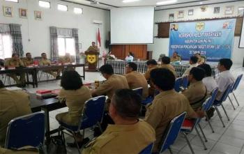 Workshop keciptakaryaan Kabupaten Gunung Mas, Senin (9/10/2017)