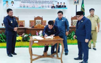 Suasana di Internal Lembaga Legislatif Pulang Pisau Mulai Tak Harmonis