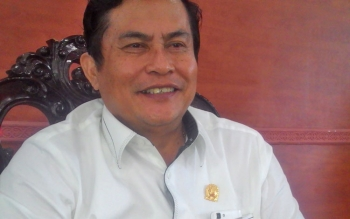 Wakil Ketua satu DPRD Kabupaten Kapuas Robert L Gerung Politisi Partai PDI Perjuangan.