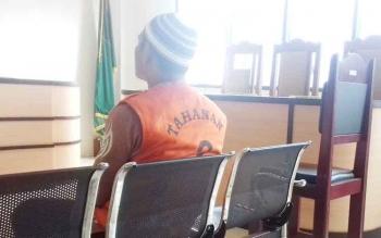Bia Adiatma honorer di Dinas Perhubungan Seruyan terdakwa kasus zenith.