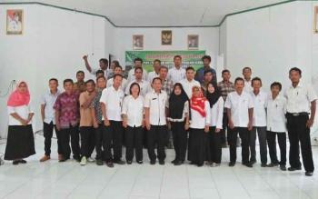 DKPP Kabupaten Sukamara menggelar sosialisasi pendataan hewan ternak, Kamis (12/10/2017).