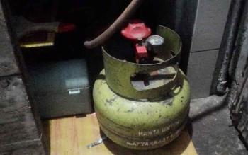 di Palangka Raya gas elpiji 3 kilo gram yang sudah mulai langka di pasaran\\r\\n\\r\\n\\r\\n