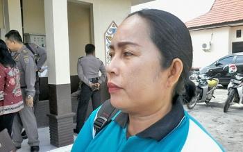 Kepala Desa Banut Kelanaman Kecamatan Katingan Hilir Sri Opnamewati.