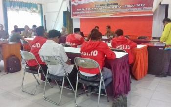 Partai Solidaritas Indonesia (PSI) Kotim mendaftar ke KPU Kotim.