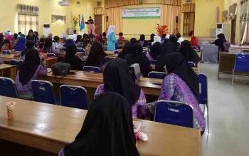 Musyawarah Daerah (Musda) IGTKI dan Himpaudi Kabupaten Sukamara di BPG Sukamara.