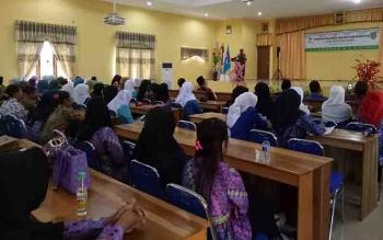 Musyawara daerah IGTKI dan Himpaudi Kabupaten Sukamara, Sabtu (14/10/2017).