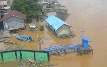 Debit Sungai Katingan Mulai Tunjukkan Peningkatan