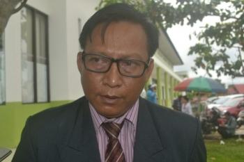 Kepala Dinas Kesehatan Kabupaten Katingan Robertus Pamurianto.