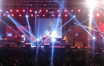 Ribuan warga Kabupaten Kotawaringin Barat memadati arena Kobar Expo untuk menyaksikan malam penutupan, Sabtu (14/10/2017) malam.