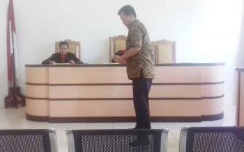 Sidang praperadilan yang dilakukan Bos Miras terhadap Bea Cukai Sampit hari ini digelar