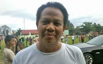 Ketua panitia turnamen Gala Desa tingkat Kabupaten Katingan tahun 2017, Wahiman