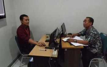 Pegawai Diskominfosandi Barito Utara saat mengikuti Bimtek di Jogyakarta