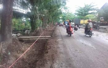 Perbaikan Jalan Pramuka, Sampit