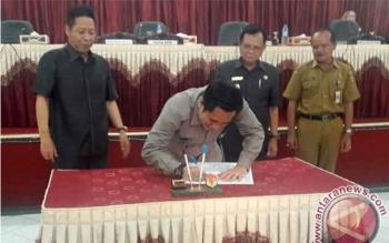 DPRD Barito Timur Setujui Raperda APBD-P 2017