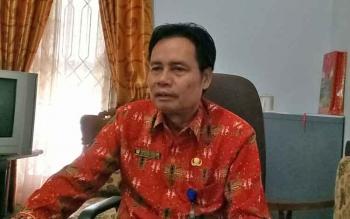 Sekretaris Dinas Kependudukan dan Pencatatan Sipil Kabupaten Gumas, Harton S Duan.