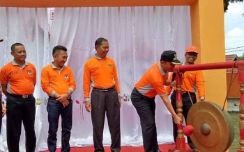 KPU Sukamara saat Launching Pilkada beberapa waktu lalu.