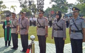 Inilah wajah kelima perwira pertama yang akan menjabat di Polres Kapuas.