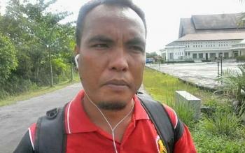 Sekretaris Satgas Anti Narkoba BNK Kabupaten Katingan, Budiman L Gaul