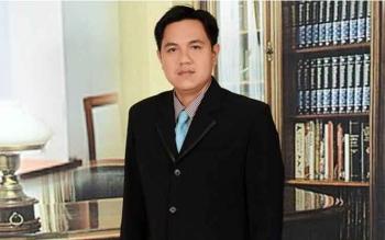 Wakil Ketua I DPRD Kabupaten Barito Timur Ariantho S Muller.