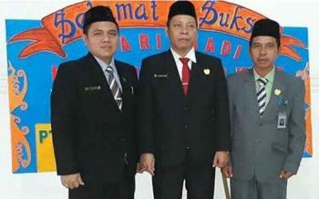 Wakil Ketua I DPRD Barito Tiur Ariantho S Muller, Ketua DPRD Barito Timur Broelalano, Wakil ketua UU DPRD Bartim Raran