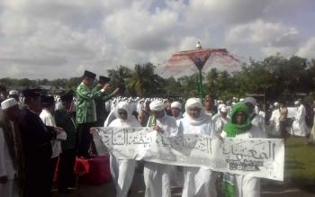 Peringatan Hari Santri Nasional di Kabupaten Kapuas.