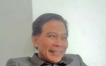 Ketua DPRD Kapuas Algrin Gasam.
