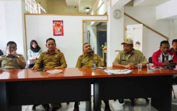 Pengurus KONI Kota Palangka Raya membeberkan ke awak media bahwa meminta Sigit K Yunianto sebagai Ketua Umum KONI Palangka Raya