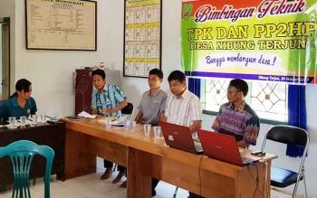Pelatihan Pengadaan Barang dan Jasa di Desa Nibung Terjun, Kecamatan Permata Kecubung, Kabupaten Sukamara.