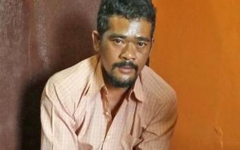 Pelaku sabu yang berhasil diringkus Sat Resnarkoba Polres di Gang Parau II, Kelurahan Baru.
