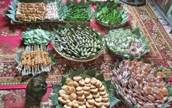 beberapa jenis kue tradisional atau wadai seperti inilah yang bakal disajikan dalam Festival Mehampar Wadai Minggu (29/10/2017)