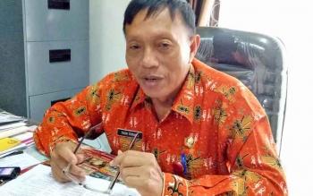 Kepala Kesbangpol Kabupaten Gunung Mas Tasa Torang.