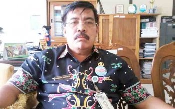 Kepala Dinas Kependudukan dan Pencatatan Sipil Kabupaten Katingan, Bambang Harianto.